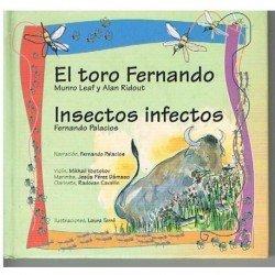 Colección La Mota de Polvo. El Toro Fernando / Insectos Infectos (Cuento con CD)