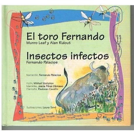 Colección La Mota de Polvo. El Toro Fernando / Insectos Infectos (Cuento con CD). Agruparte