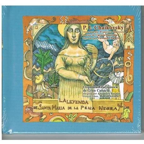 Colección La Mota de Polvo. La Leyenda de Sta. María de la Pena Negra (Cuento con CD)