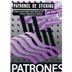 Chaffee, Gary. Patrones de Sticking +CD
