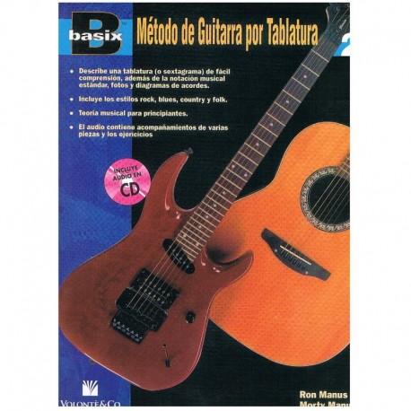 Manus. Basix. Método de Guitarra (TAB) Vol.2 +CD. Volonte & Co