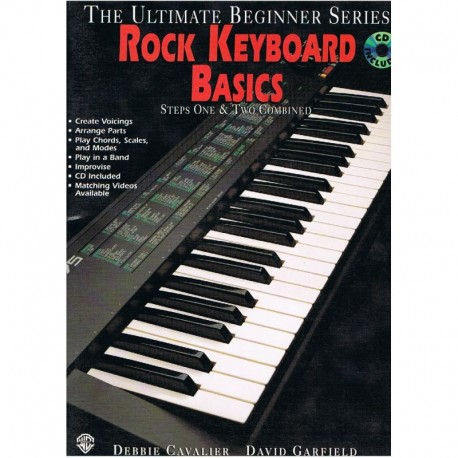 Cavalier/Garfield.  Rock Keyboard Basics +CD. IMP