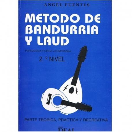 Fuentes, Angel. Método de Bandurria y Laud Vol.2. Real Musical