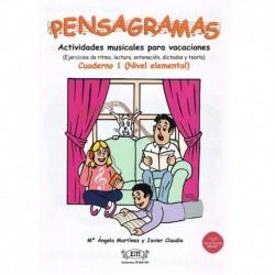 Martinez/Cla Pensagramas Cuaderno 1 +2CDs