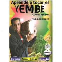 Rimbao/Rodriguez. Aprende a Tocar el Djembé Nivel 1 +CD