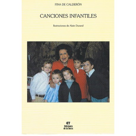 De Calderon, Fina. Canciones Infantiles (Voz/Piano)