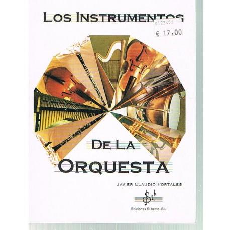 Claudio, Javier. Los Instrumentos de la Orquesta