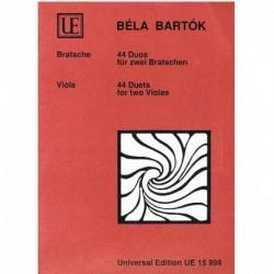 Bartok, Bela 44 Duos para 2 Violas