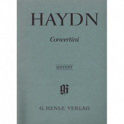 Haydn, Josep Concertino (2 Violines, Cello, Piano)