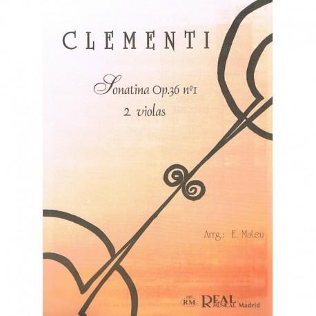 Clementi. Sonatina Op.36 Nº1 (2 Violas)