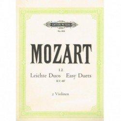 Mozart. 12 Dúos Fáciles...