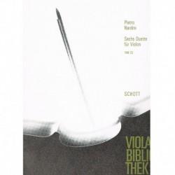 Nardini. 6 Dúos VAB23 (2 Violas)
