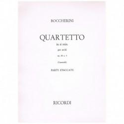 Boccherini. Cuarteto Si Menor Op.58 Nº4 (2 Violines, Viola, Cello)