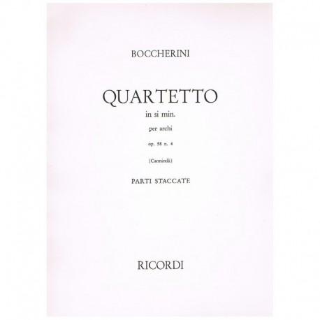 Cuarteto Si Menor Op.58 Nº4 (2 Violines, Viola, Cello)