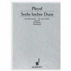 Pleyel 6 Dúos Fáciles Op.48...