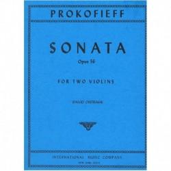 Prokofieff. Sonata Op.56 (2...