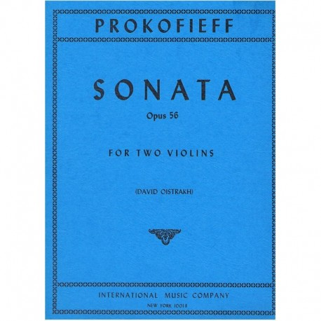 Prokofiev Sonata Op.56 (2 Violines)