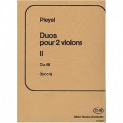 Pleyel Dúos Op.48 Vol.2 (2 Violines)