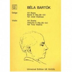 Bartok, Bela 44 Dúos Vol.2...
