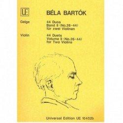 Bartok, Bela. 44 Dúos Vol.2...