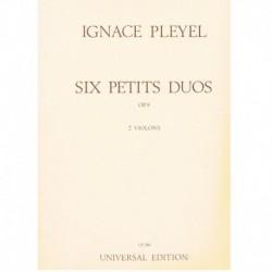 Pleyel 6 Pequeños Dúos Op.8 (2 Violines)