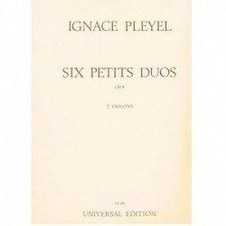 Pleyel 6 Pequeños Dúos Op.8...