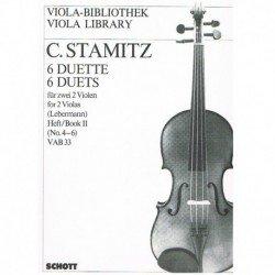 Stamitz. 6 Dúos Vol.2 (4-6)...