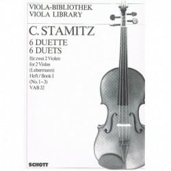 Stamitz. 6 Dúos Vol.1 (1-3) VAB32 (2 Violas)