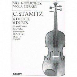 Stamitz, Carl. 6 Dúos Vol.1...