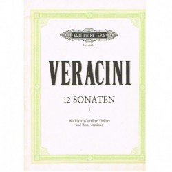 Veracini. 12 Sonatas Vol.1...
