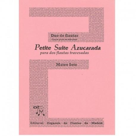 Soto. Petite Suite Azucarada (2 Flautas)