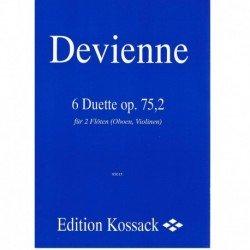 Devienne 6 Dúos Op.75,2 (2 Flautas/Oboes/Violines)