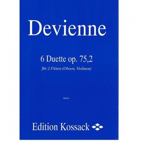 Devienne. 6 Dúos Op.75,2 (2 Flautas/Oboes/Violines)