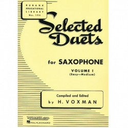 Varios. Selected Duets for Saxophone Vol.1 (Fácil-Medio)