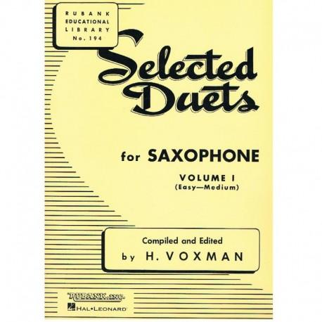 Varios. Selected Duets for Saxophone Vol.1 (Fácil-Medio)