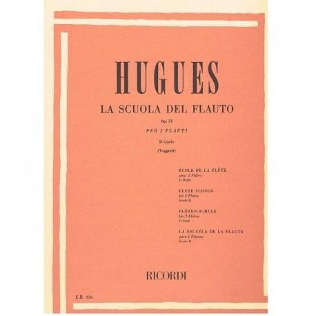 Hugues La Scuola del Flauto Op.51 Vol.2 (2 Flautas)