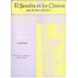 Gran Dúo (Saxofón Alto y...