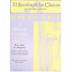 Mozart. 12 Piezas Fáciles...