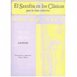 Gran Dúo (Saxofón Soprano y Alto)