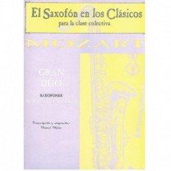 Gran Dúo (Saxofón Soprano y...