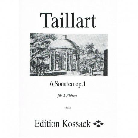 Taillart. 6 Sonatas Op.1 (2 Flautas)