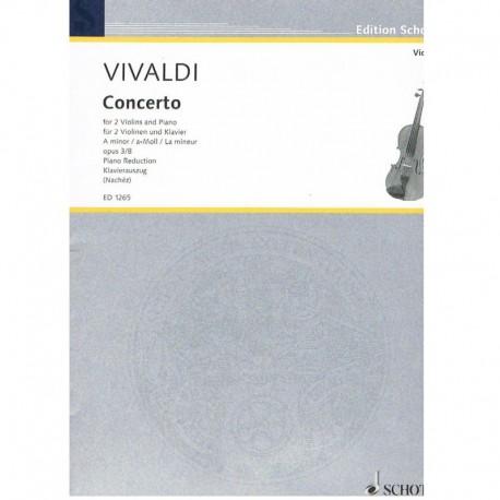 Vivaldi. Concierto Op.3 Nº8 La menor (2 Violines y Piano)