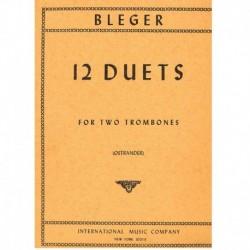 12 Dúos (2 Trombones)
