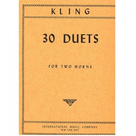 Kling 30 Dúos (2 Trompas)