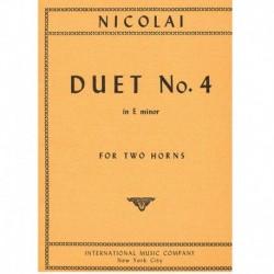 Dúo Nº4 Mi menor (2 Trompas)