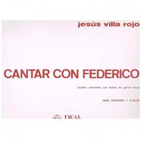 Villa Rojo, Cantar con Federico (Soprano y Flauta)