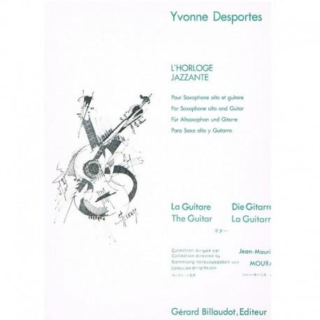 Desportes, Y L'Horloge Jazzante (Saxo Alto y Guitarra)