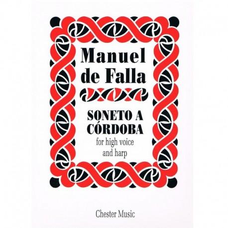 Falla, Manue Soneto a Córdoba (Voz Alta y Arpa)