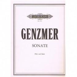 Genzmer Sonata (Flauta y Arpa)