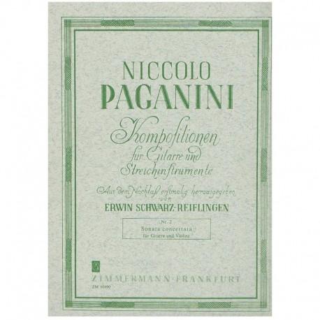 Paganini, Ni Sonata Concertata (Guitarra y Violín)